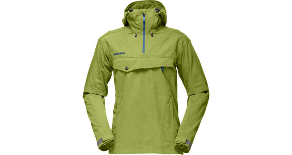 Norrøna M's Svalbard Cotton Anorak Green Meadow (2263)
